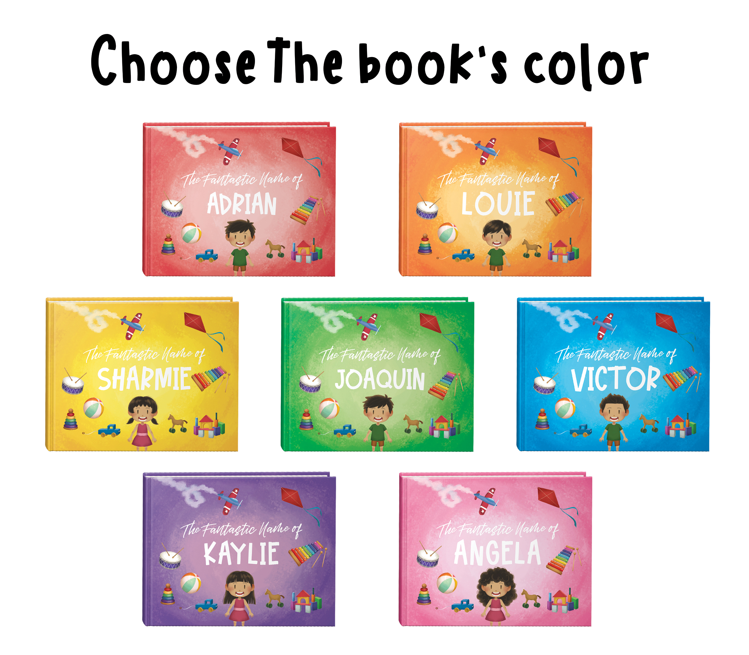 The Fantastic Name Of You Children S Book The Personal Store
